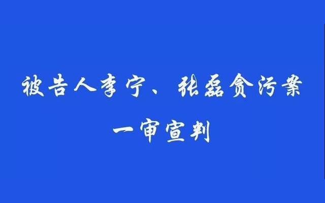 最新!中国工程院院士李宁案一审宣判:有期徒刑十二年